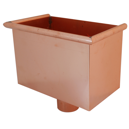 Copper Hopper for Round Pipe