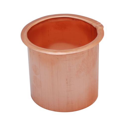Copper Cup Outlet for Square or Ogee Gutter