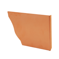 Copper Ogee Gutter Stop End