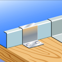 Standing Seam Fixed Clip (1000nr)