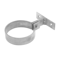 Zinc Pipe Bracket - Round Ring Type