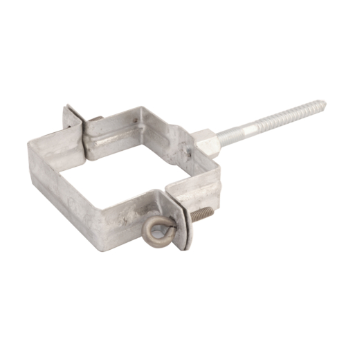 Zinc Rainwater Pipe Bracket - Square