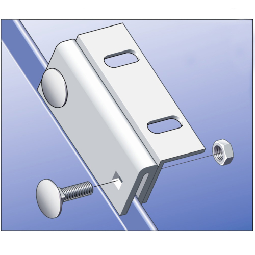 Stainless Snaplock Seam Clamp (7nr)