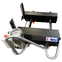 Dimos Dipro P4600 Standing Seam Machine & Mini Decoiler