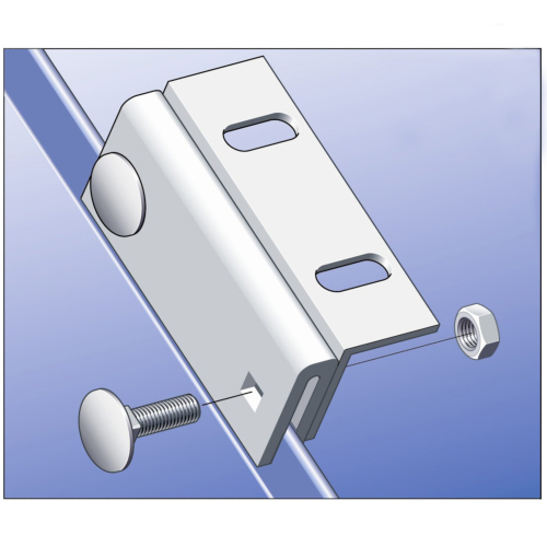 Stainless Standing Seam Clamp (10nr)