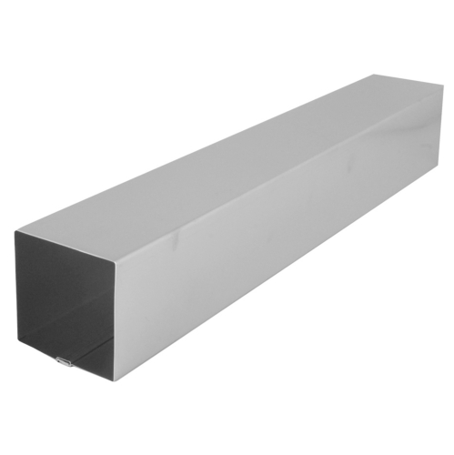 Stainless Rainwater Pipe - Square