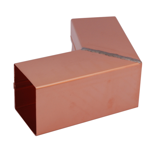Copper 72 Deg Pipe Bend - Square